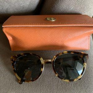 Tory Burch Panama Sunglasses - Havana Tortoise